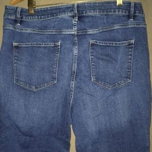 Sonoma 16s Jeans Mid rise Straight cotton stretch
